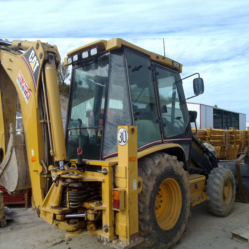 Retrocargadora (Mixta) Caterpillar 432 DAA (Nº 8U)